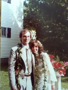 Our wedding photo