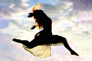 Woman-Leaping
